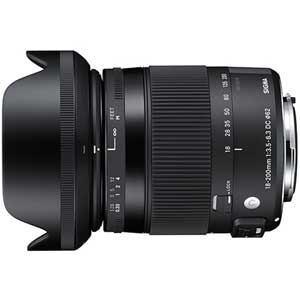 シグマ レンズ AF18-200/3.5-6.3DMOHEOカメラ:カメラアクセサリー:カメラレンズ