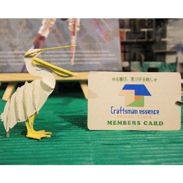 立体 ペーパークラフト ウラノ 3Dペーパーパズル ペリカン (送料¥300 小型便配送可)|dambool-crafts|04