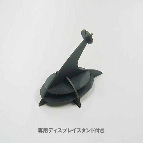 立体 ペーパークラフト ウラノ 3Dペーパーパズル コオロギ(グリーン)【台座付き】 (送料無料・小型便にて配送)|dambool-crafts|02