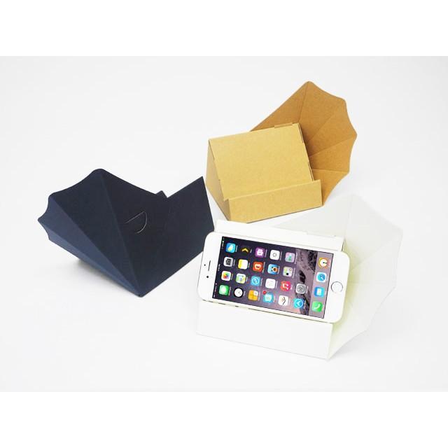 スマートフォン アンドロイド Iphone スピーカー ペーパークラフト スマホ用横置きスピーカー スマホーン (送料無料・小型便にて配送)|dambool-crafts|04