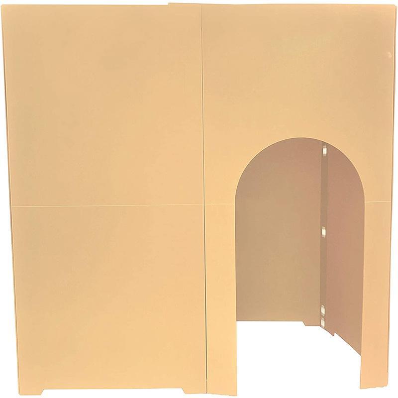 個室 パーテーション 間仕切り コシツダナ Koshitsu-Dana 簡単設置で自分だけの空間 軽量日本製 プラダン製 タチバナ産業|danbolu-honpo|13