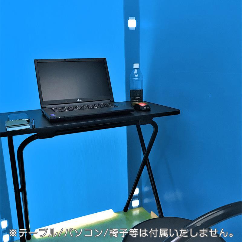 個室 パーテーション 間仕切り コシツダナ Koshitsu-Dana 簡単設置で自分だけの空間 軽量日本製 プラダン製 タチバナ産業|danbolu-honpo|07