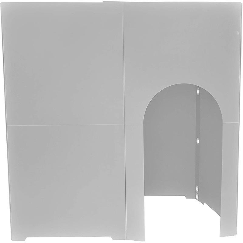 個室 パーテーション 間仕切り コシツダナ Koshitsu-Dana 簡単設置で自分だけの空間 軽量日本製 プラダン製 タチバナ産業|danbolu-honpo|10