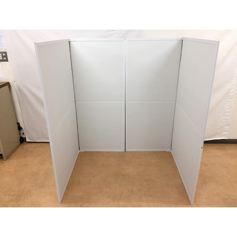 パーテーション Zoom 背景 テレワーク リモートワーク 個室 フロアー用 1ケース(1セット 2枚入り) オフィス ウイルス 対策 シキリダナ|danbolu-honpo|10