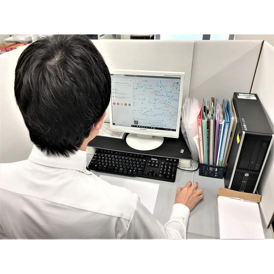 デスク用パーテーション 仕切り 間仕切り オフィス ウイルス 飛沫 対策 1ケース(2セット 4枚入り) 卓上 おしゃれ 白 ダンボール テレワーク 個室 シキリダナ danbolu-honpo 05