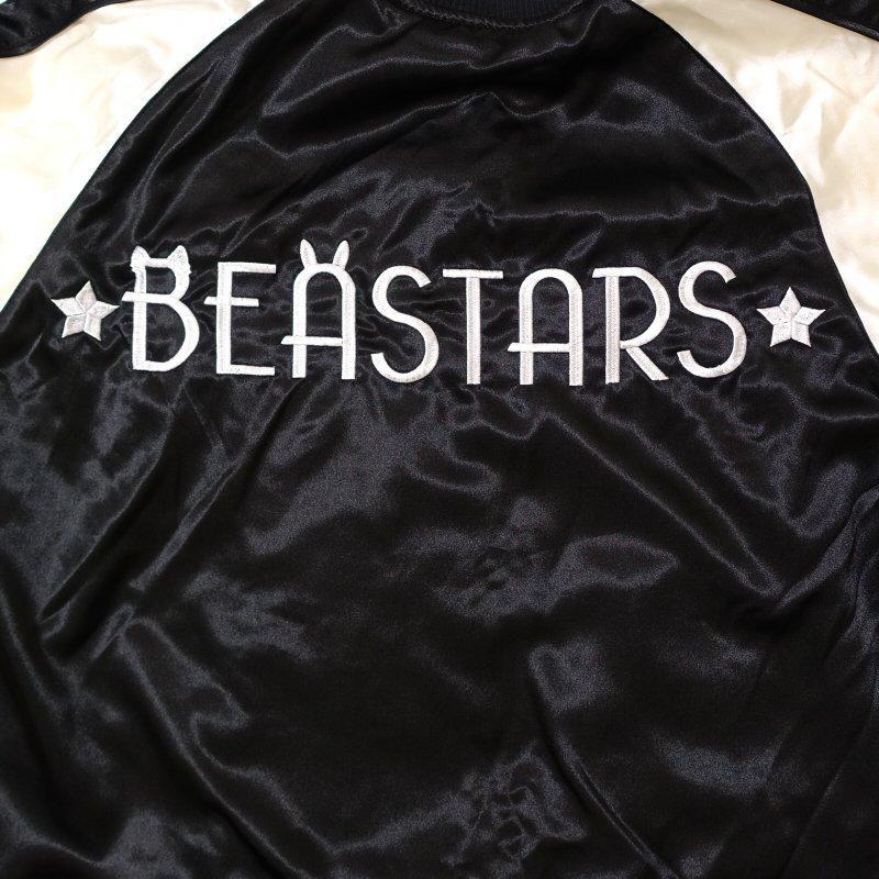 月とレゴシ刺繍スカジャン BRSJ-001 【BEASTARS Design produced by Sanrio × SwitchPlanning】 dandara 07