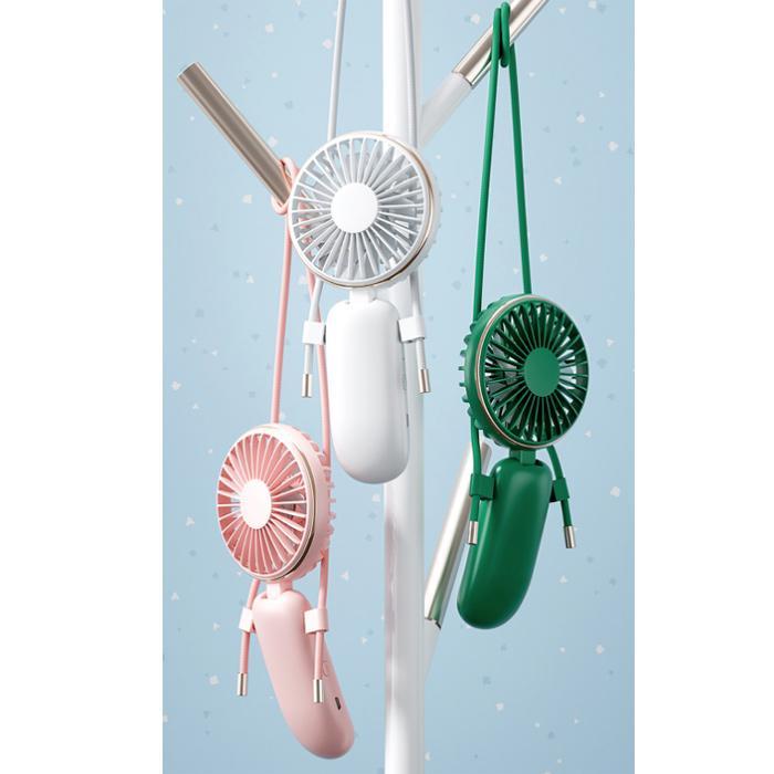 ハンディファン 首かけ ポータブル扇風機 静音 卓上扇風機 ポータブルミニファン ハンディーファン|dandsshop|15