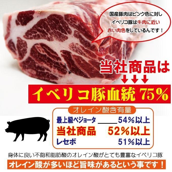 イベリコ豚ベジョータ匹敵1.4kg肩ロースブロック バーベキュー焼肉最適 dansyaku 03