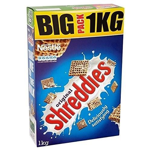 【着後レビューで 送料無料】 ネスレShreddiesの1キロ (Pack (x 6) - - Nestle Shreddies 1kg (Pack of [並行輸入品] 6) [並行輸入品], TMIネットショップ:475c5db4 --- sonpurmela.online