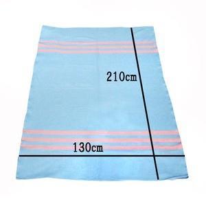 Army Blanket(blue×pink)|dapper-s-room|06