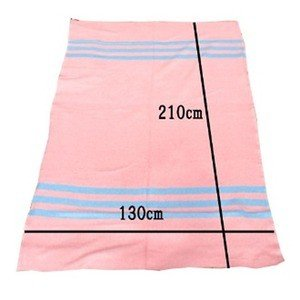 Army Blanket(pink×blue) dapper-s-room 06