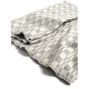 Army Blanket(white×gray)|dapper-s-room