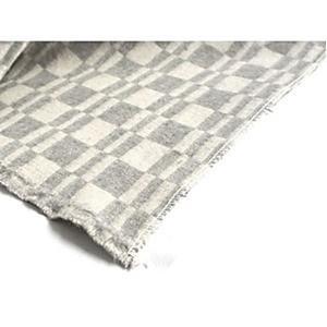 Army Blanket(white×gray)|dapper-s-room|04