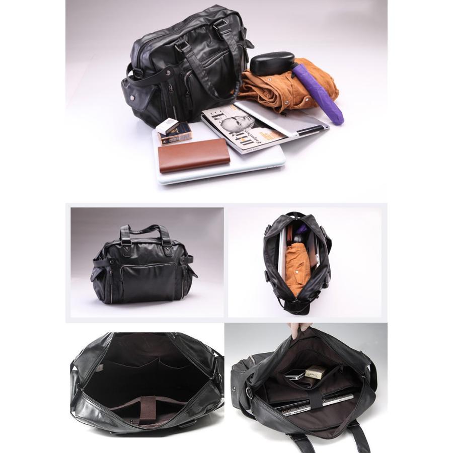 ボストンバッグ トートバッグ ショルダーバッグ メンズ 本革 革 かばん 鞄 ボストン バッグ レザーバッグ レザー レザー 牛革  トート ブラック 送料無料 darcy 10
