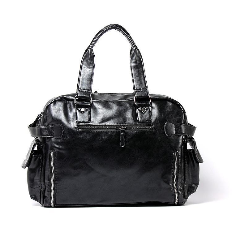ボストンバッグ トートバッグ ショルダーバッグ メンズ 本革 革 かばん 鞄 ボストン バッグ レザーバッグ レザー レザー 牛革  トート ブラック 送料無料 darcy 06