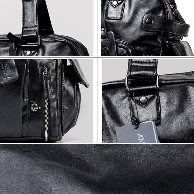 ボストンバッグ トートバッグ ショルダーバッグ メンズ 本革 革 かばん 鞄 ボストン バッグ レザーバッグ レザー レザー 牛革  トート ブラック 送料無料 darcy 08