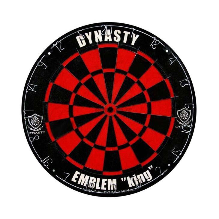 (ダーツ ボード)DYNASTY ハードダーツボード EMBLEM King 「Type-R」 B&Rオリジナルカラー【ダーツ ダーツボード ダーツセット ダーツゲーム