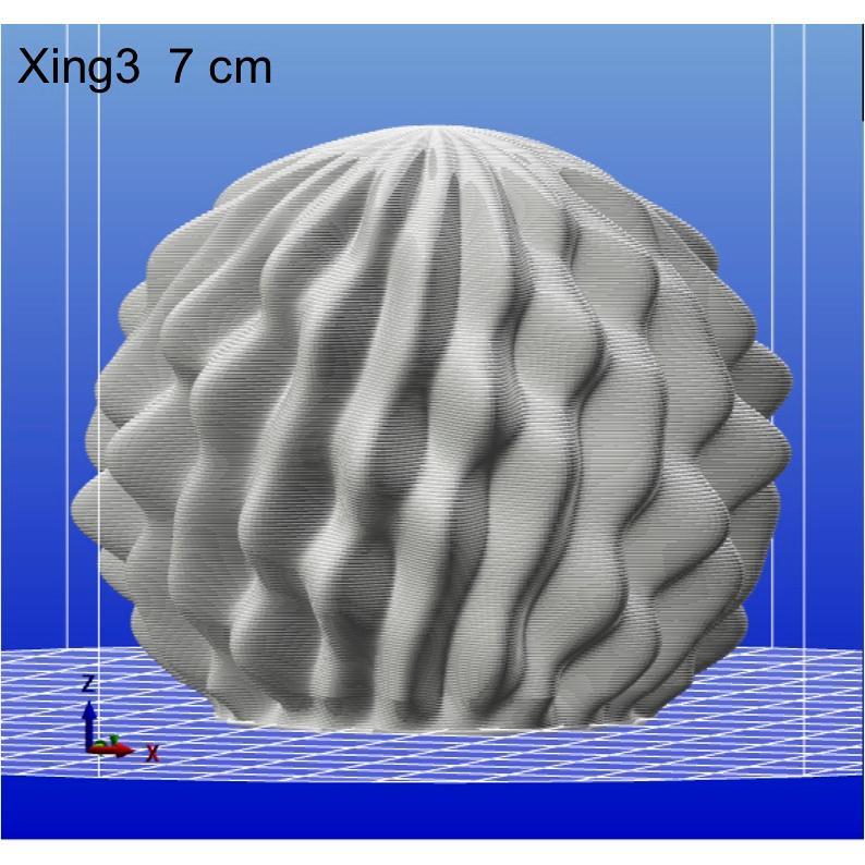3Dデザイン電球 種類 Xing3 100W相当 サイズ18cm おしゃれに きらめき輝く 電球色 昼白色 裸電球 口金E26 大きい 大形 大型ボール球型LED電球|dasyn|09