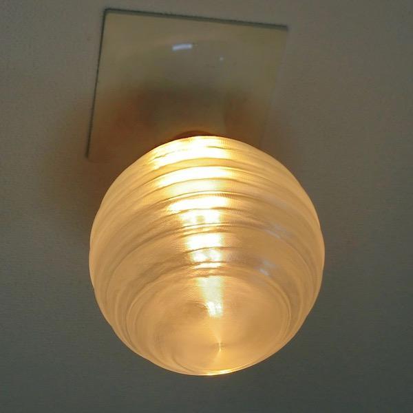 3Dデザイン電球 種類 Stretch 40W相当 サイズ12cm おしゃれに きらめき輝く 電球色 昼白色 裸電球 口金E26 大きい 大形 大型ボール球型LED電球|dasyn|11