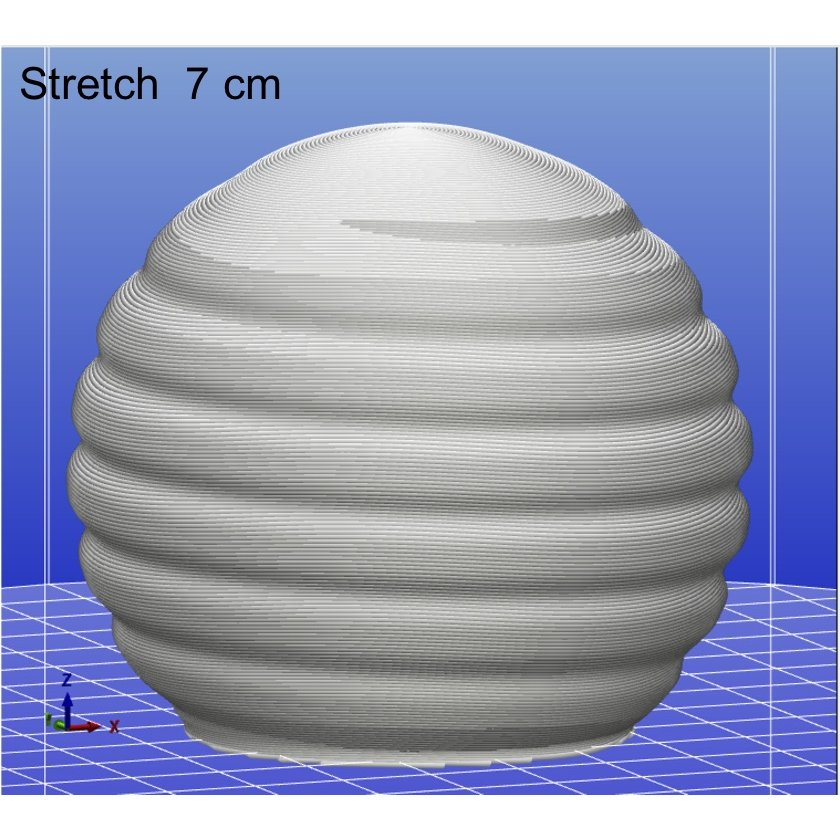 3Dデザイン電球 種類 Stretch 40W相当 サイズ12cm おしゃれに きらめき輝く 電球色 昼白色 裸電球 口金E26 大きい 大形 大型ボール球型LED電球|dasyn|13