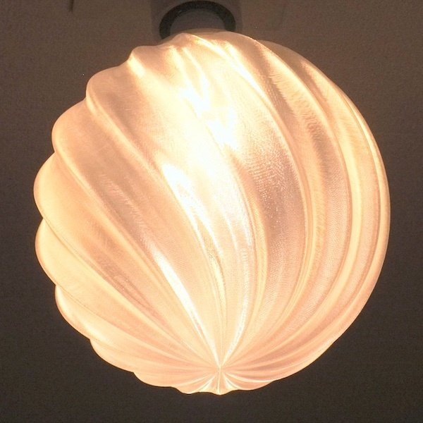 3Dデザイン電球 種類 IIng 40W相当 サイズ18cm おしゃれに きらめき輝く 電球色 昼白色 裸電球 口金E26 大きい 大形 大型ボール球型LED電球|dasyn|02