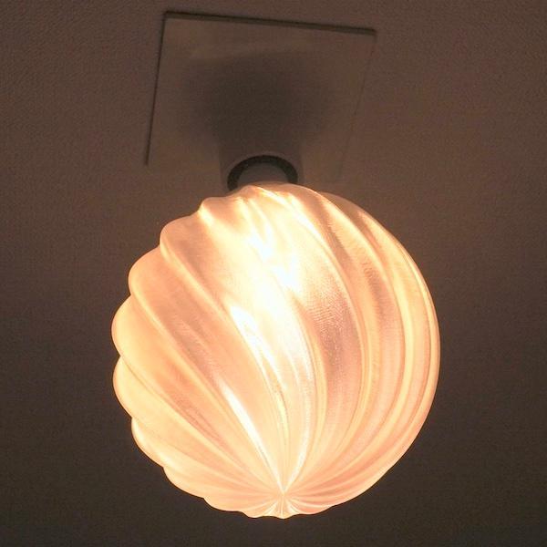 3Dデザイン電球 種類 IIng 40W相当 サイズ18cm おしゃれに きらめき輝く 電球色 昼白色 裸電球 口金E26 大きい 大形 大型ボール球型LED電球|dasyn|07