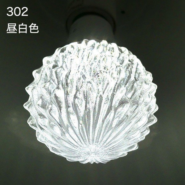 3Dデザイン電球セミオーダー お好きなサイズと模様が選べる! おしゃれに きらめく 大型ボール球型LED電球 天井直付けに! 30〜60W相当 直径9〜18cm 4〜15W E26|dasyn|16