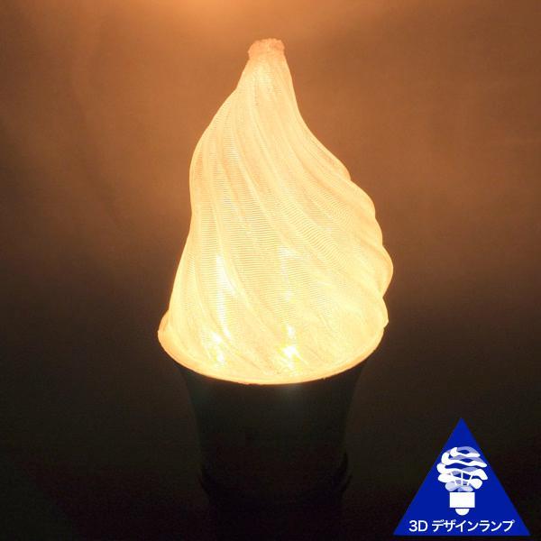 3Dデザイン電球 シャンデリア球型 炎のようにゆらぐ形 ホットな燃える炎型 おしゃれにきらめく LED 電球 白熱灯20W-40W相当 電球色 昼白色 口金 E26 E17|dasyn|04