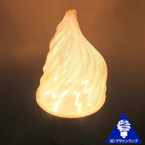 3Dデザイン電球 シャンデリア球型 炎のようにゆらぐ形 ホットな燃える炎型 おしゃれにきらめく LED 電球 白熱灯20W-40W相当 電球色 昼白色 口金 E26 E17|dasyn|07