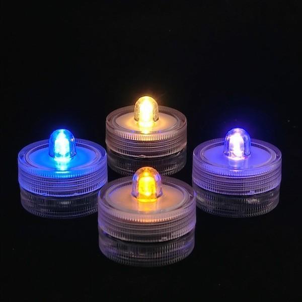LEDキャンドルライト 3Dデザインランプ インテリア おしゃれにきらめく和紙風のキャップ付 明るいテーブルランプ ティーライト ボタン電池型 (送料120円) dasyn 02