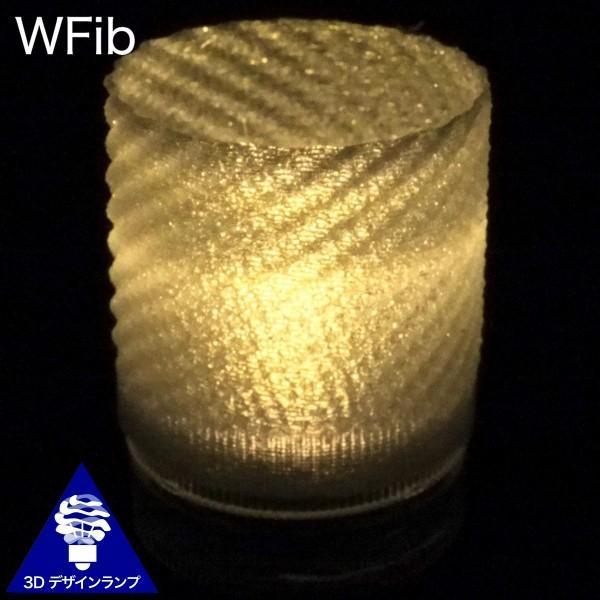 LEDキャンドルライト 3Dデザインランプ インテリア おしゃれにきらめく和紙風のキャップ付 明るいテーブルランプ ティーライト ボタン電池型 (送料120円) dasyn 03
