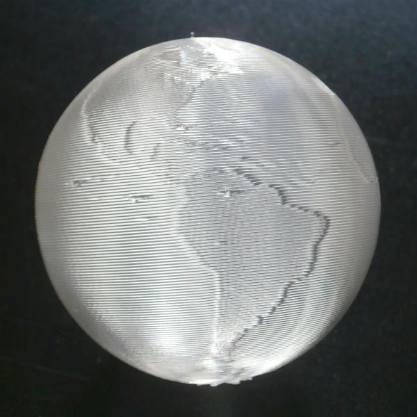 3Dデザイン かる〜い 3D印刷 地球儀 おしゃれなミニ透明インテリア 直径 2cm 〜12cm 何個でも送料 120 円|dasyn|04