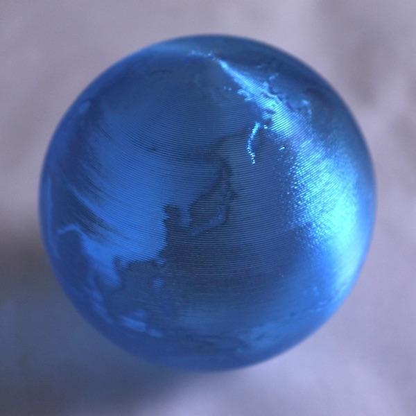 3Dデザイン かる〜い 3D印刷 地球儀 おしゃれなミニ透明インテリア 直径 2cm 〜12cm 何個でも送料 120 円|dasyn|08