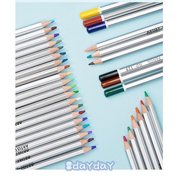 72色セット 色鉛筆 カラーペン 油性色鉛筆 絵の具 アート鉛筆 スケッチ用 プレゼント 収納ケース ギフト 文房具 塗り絵用 子供 学生 dayday-shop 02