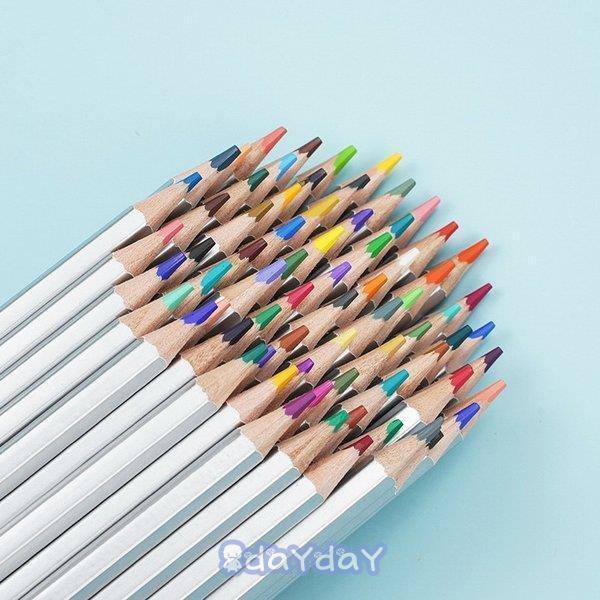 72色セット 色鉛筆 カラーペン 油性色鉛筆 絵の具 アート鉛筆 スケッチ用 プレゼント 収納ケース ギフト 文房具 塗り絵用 子供 学生 dayday-shop 12