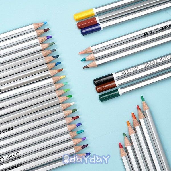 72色セット 色鉛筆 カラーペン 油性色鉛筆 絵の具 アート鉛筆 スケッチ用 プレゼント 収納ケース ギフト 文房具 塗り絵用 子供 学生 dayday-shop 13