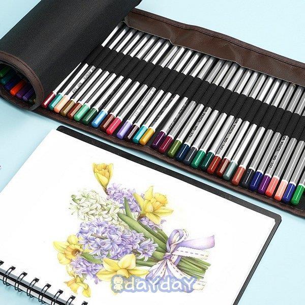 72色セット 色鉛筆 カラーペン 油性色鉛筆 絵の具 アート鉛筆 スケッチ用 プレゼント 収納ケース ギフト 文房具 塗り絵用 子供 学生 dayday-shop 14