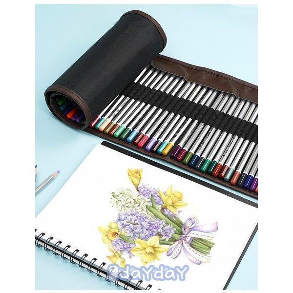 72色セット 色鉛筆 カラーペン 油性色鉛筆 絵の具 アート鉛筆 スケッチ用 プレゼント 収納ケース ギフト 文房具 塗り絵用 子供 学生 dayday-shop 08