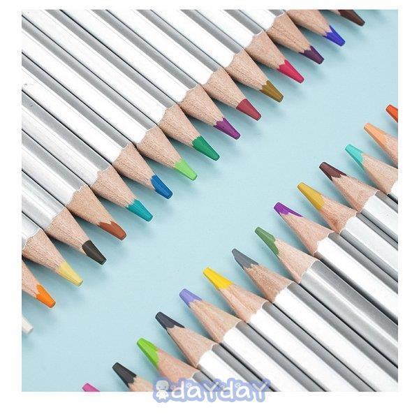 72色セット 色鉛筆 カラーペン 油性色鉛筆 絵の具 アート鉛筆 スケッチ用 プレゼント 収納ケース ギフト 文房具 塗り絵用 子供 学生 dayday-shop 09