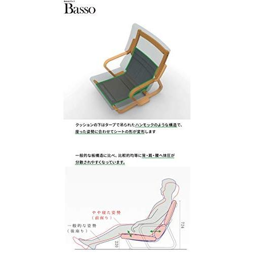 オカムラ 低座リラックスシーティング バッソ 日本人の生活スタイルにマッチ シーティング ベージュ 8CB61A-FKC2|days-of-magic|03