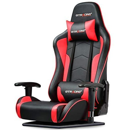 GTRACING ゲーミング座椅子 ゲーミングチェア 180度リクライニング ハイバック 可動肘 ヘッドレスト 肘掛け付き|days-of-magic