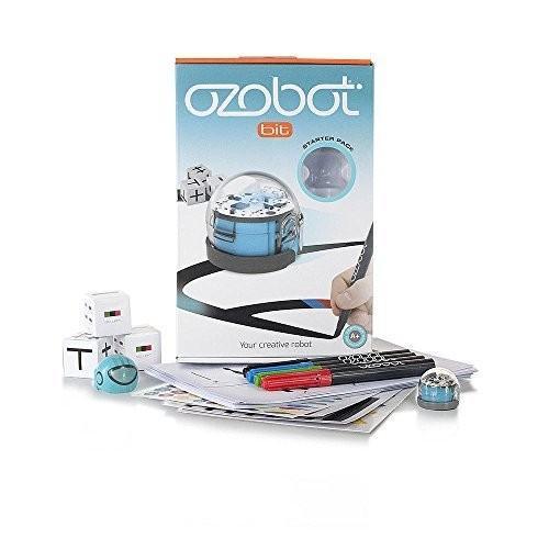 Ozobot Bit Starter Pack 青 オゾットスターターパックブルー [並行輸入品]
