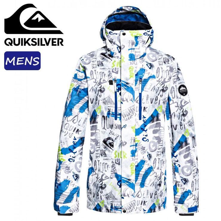 スノーボードジャケット クイックシルバー メンズ ボードウェア スノーウェア スキー 耐水圧 10K シェルジャケット QUIK銀 EQYTJ03196 :QUIK銀 EQYTJ03196 2:Days Store 通販 Yahoo!ショッピング