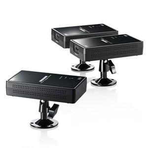 サンワサプライ VGA-EXWHD7[アンテナ混合器·分配器]ワイヤレス分配HDMIエクステンダー(2分配)