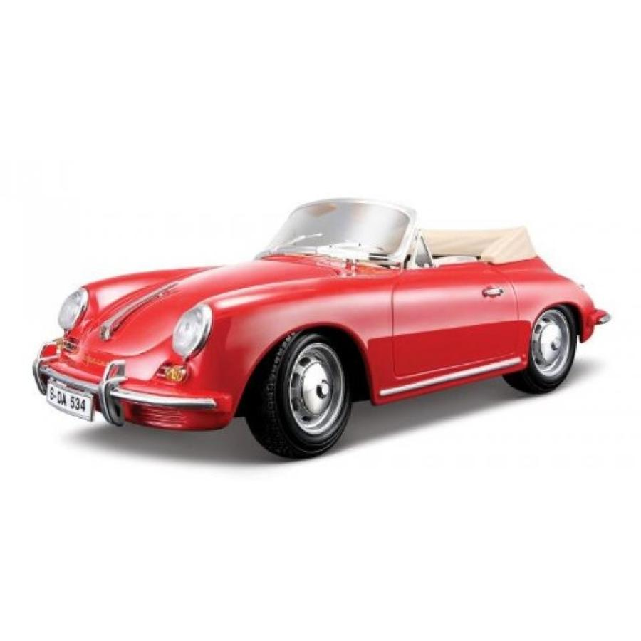 【送料無料】ミニカー 1961 Porsche 356b Convertible 赤 1:18 Die Cast Car 輸入品