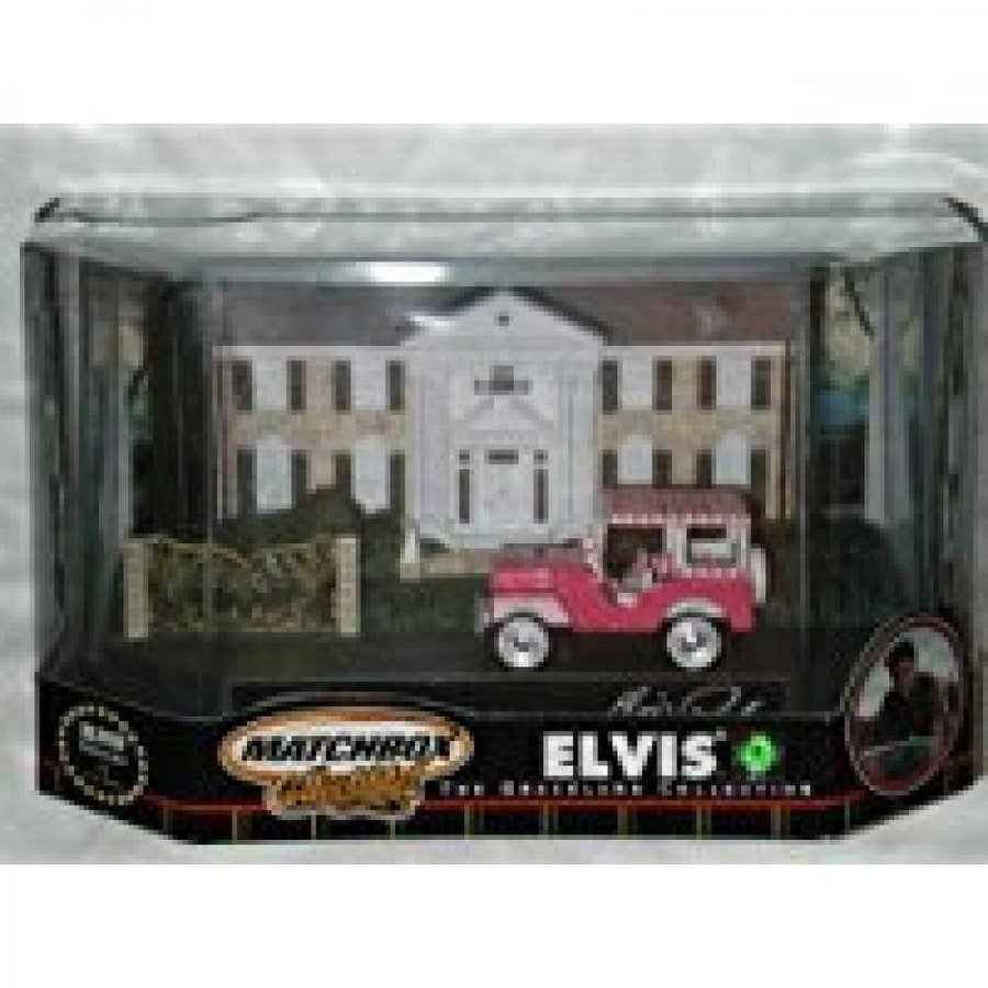 ミニカー・モデルカー Matchbox Elvis The Graceland Collection 1960 Jeep Model #4 in Series 輸入品