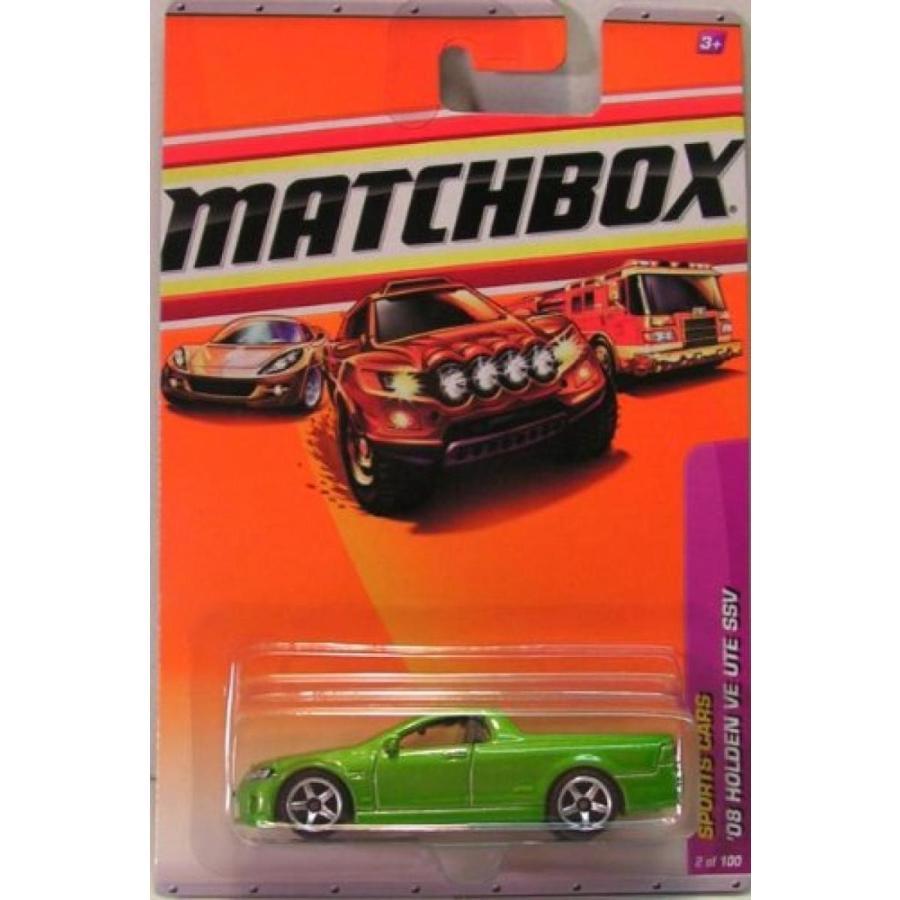 ミニカー・モデルカー 2009-2010 Matchbox '08 HOLDEN VE UTE SSV (緑) Sport Cars Series 6/15 #2 輸入品