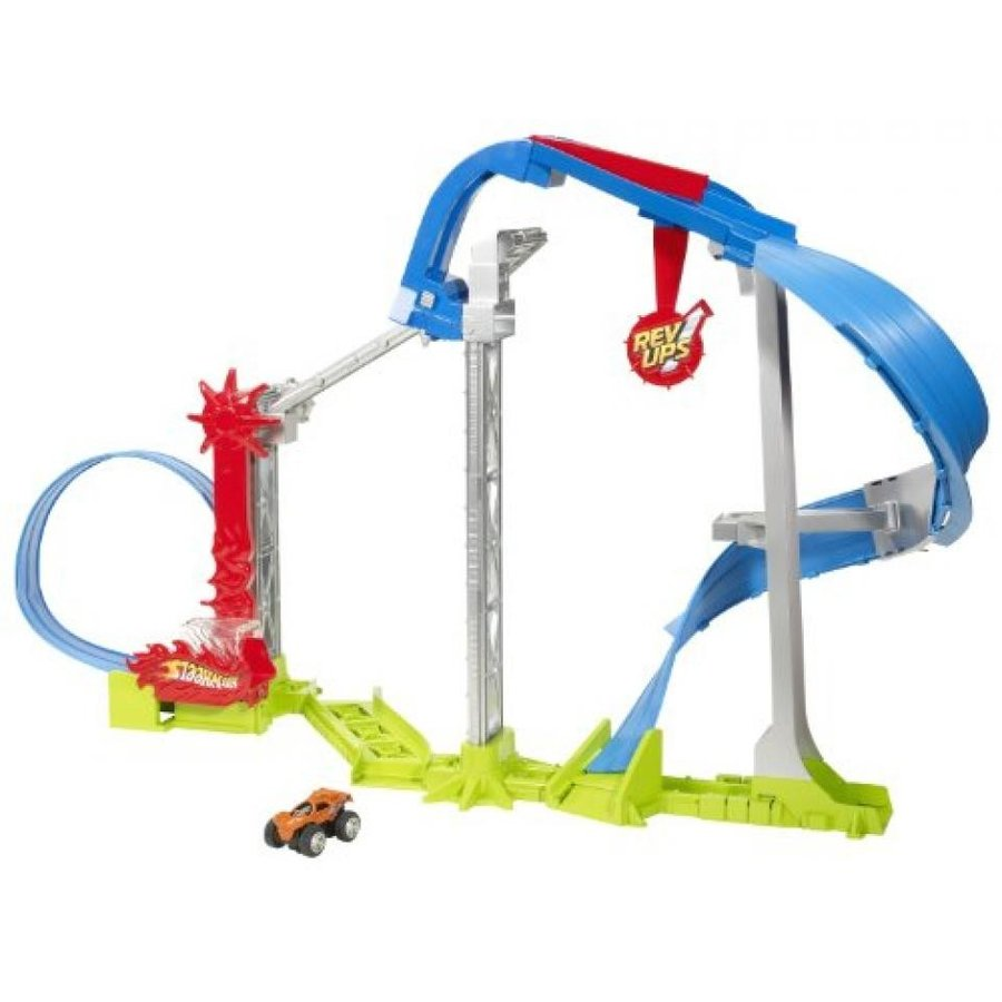 【送料無料】ミニカー Hot Wheels Rev Ups Revolution Stunt Park 輸入品