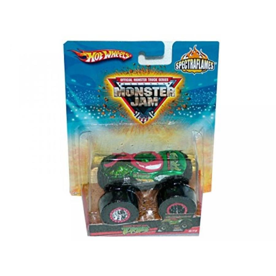 【送料無料】ミニカー Hot Wheels Monster Jam 9/75 Teenage Mutant Ninja Turtles Spectraflames 輸入品