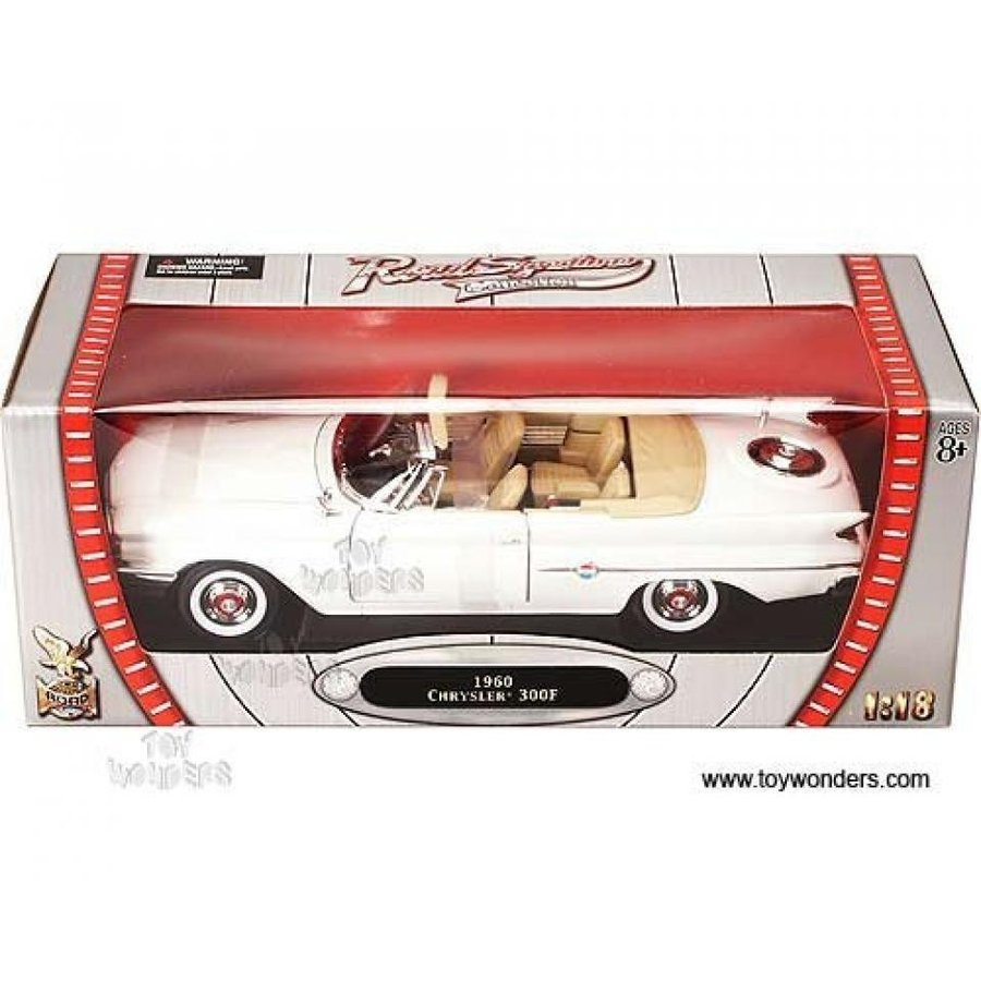 【送料無料】ミニカー 92748w Yatming - Chrysler 300f Convertible (1960, 1:18, 白い) 92748 Diecast Car Model Auto Vehicle Die Cast Metal Iron Toy